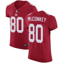Elite Men's Phil McConkey Red Alternate Jersey - #80 Football New ...